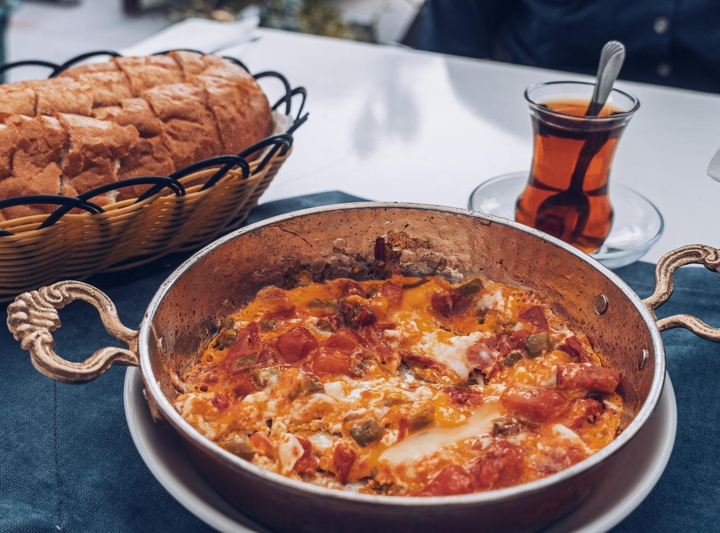 Traditional Turkish dish