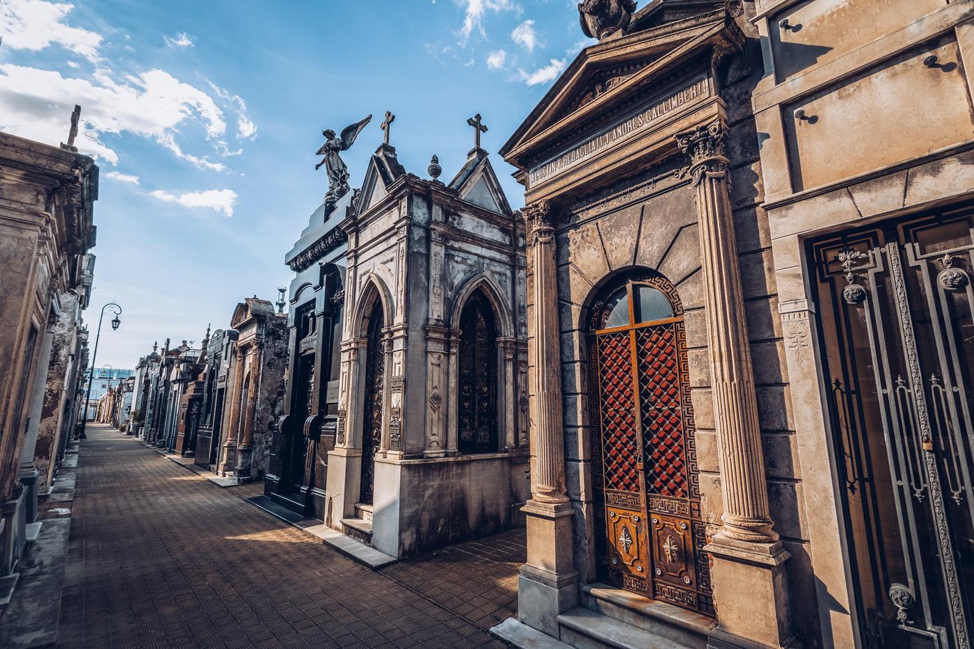 Cemetery in Recoleta