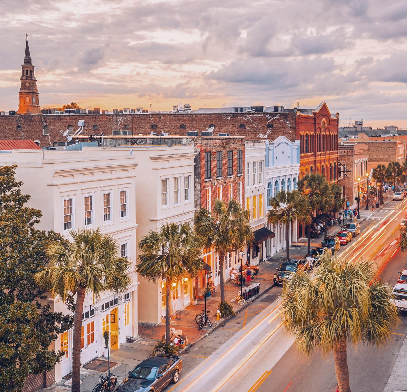Historical architecture in Charleston