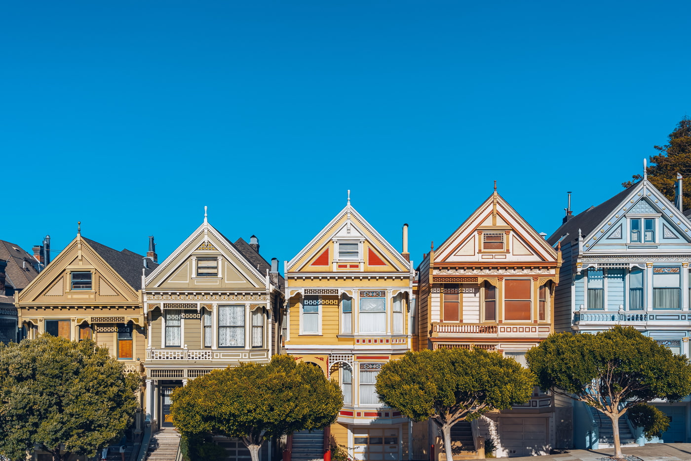 Queen Anne style houses, San Francisco