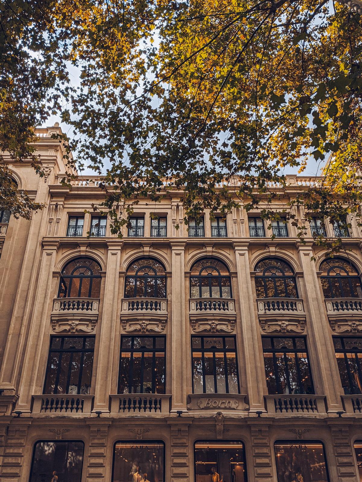 Zara Building, Passeig des Born
