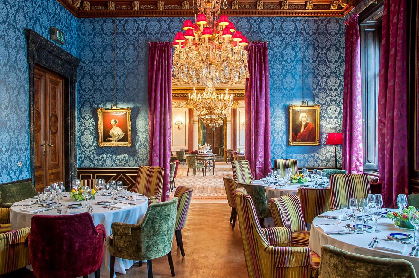 Blauer Salon at Café Gerstner K. u. K. Hofzuckerbäcker