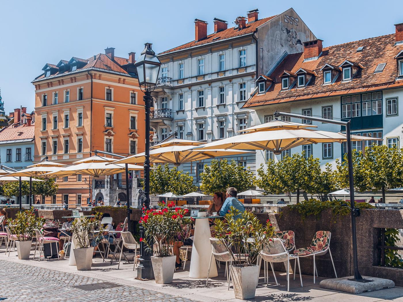 Ljubljana street terrace