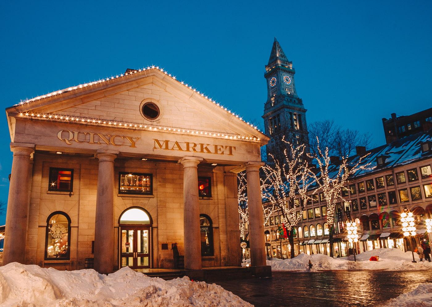Boston in December