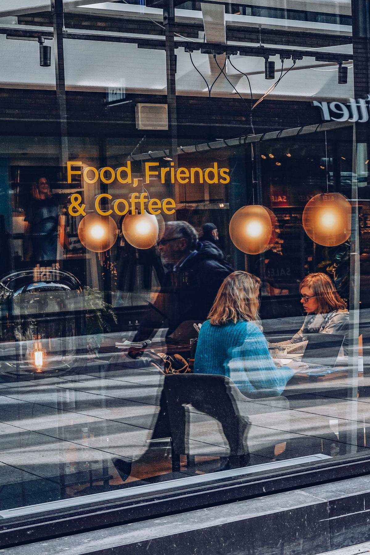 Cafe in Stockholm