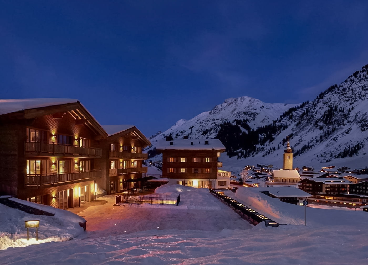 Ski chalet in Lech am Arlberg