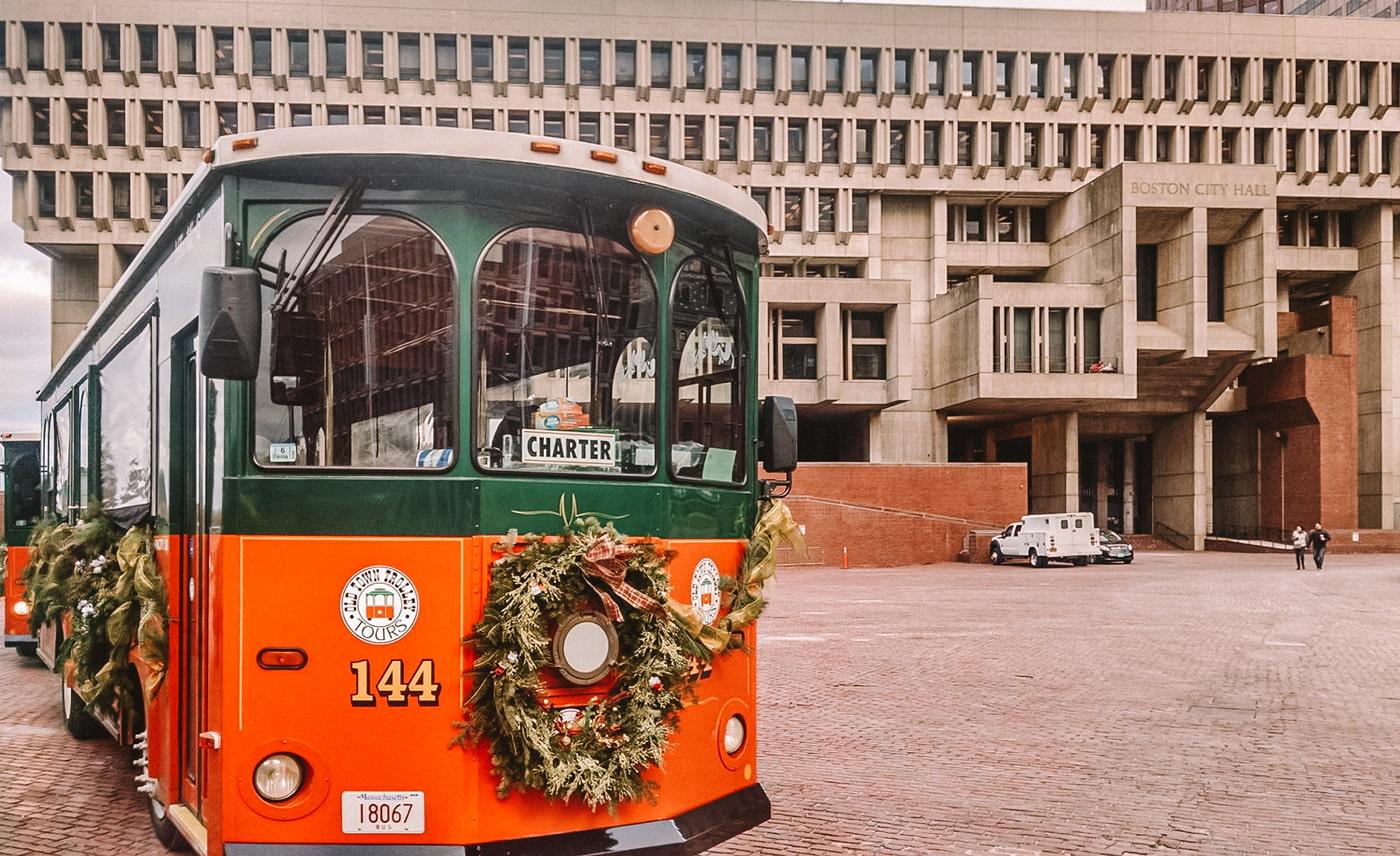 Boston Holiday Trolley