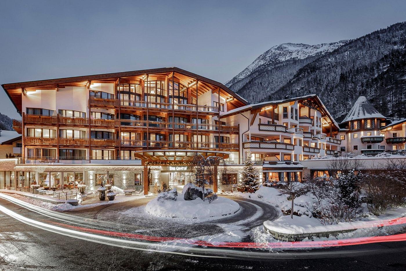 5-star Alpine resort