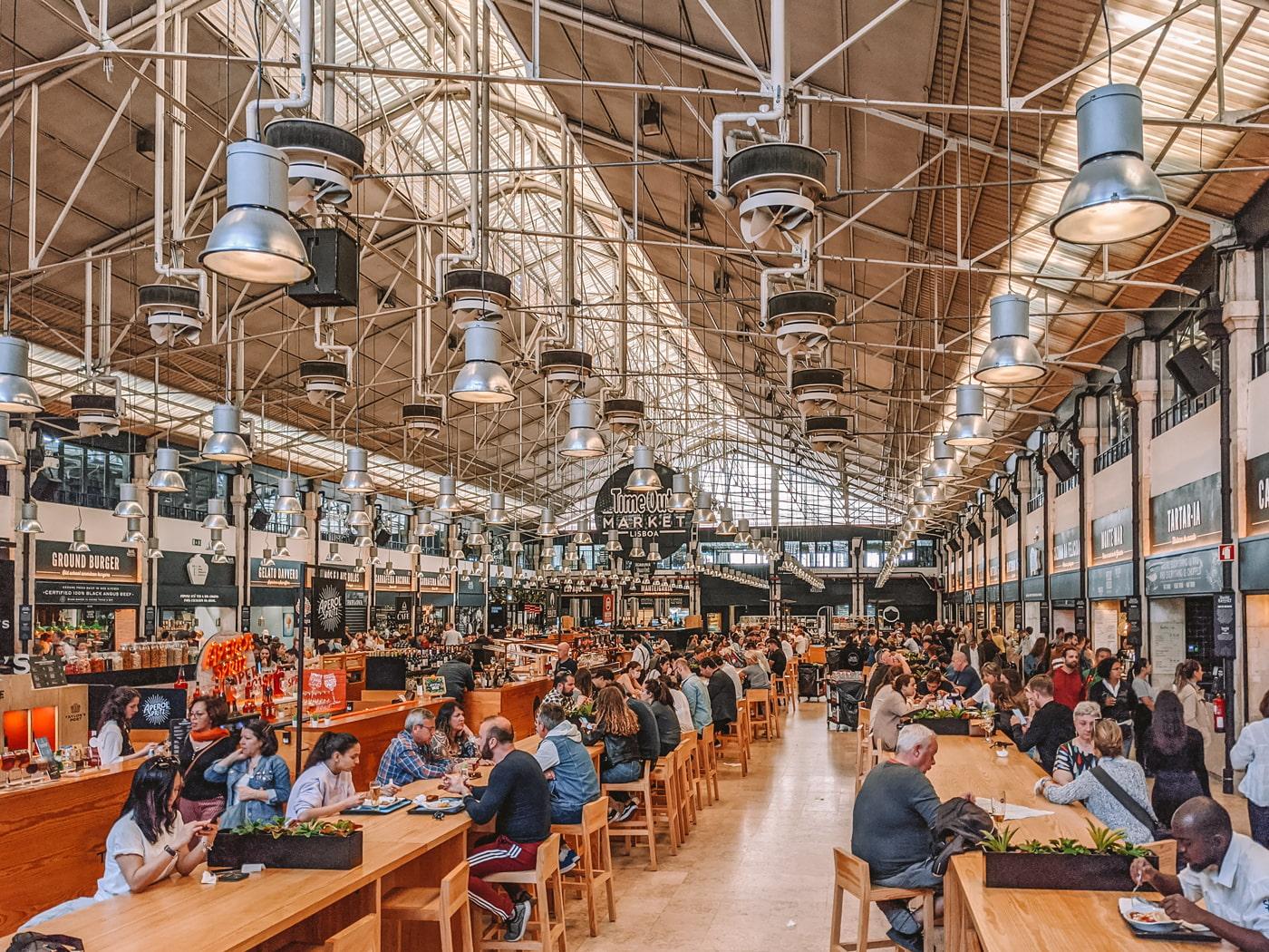 Lisbon's Time Out Market