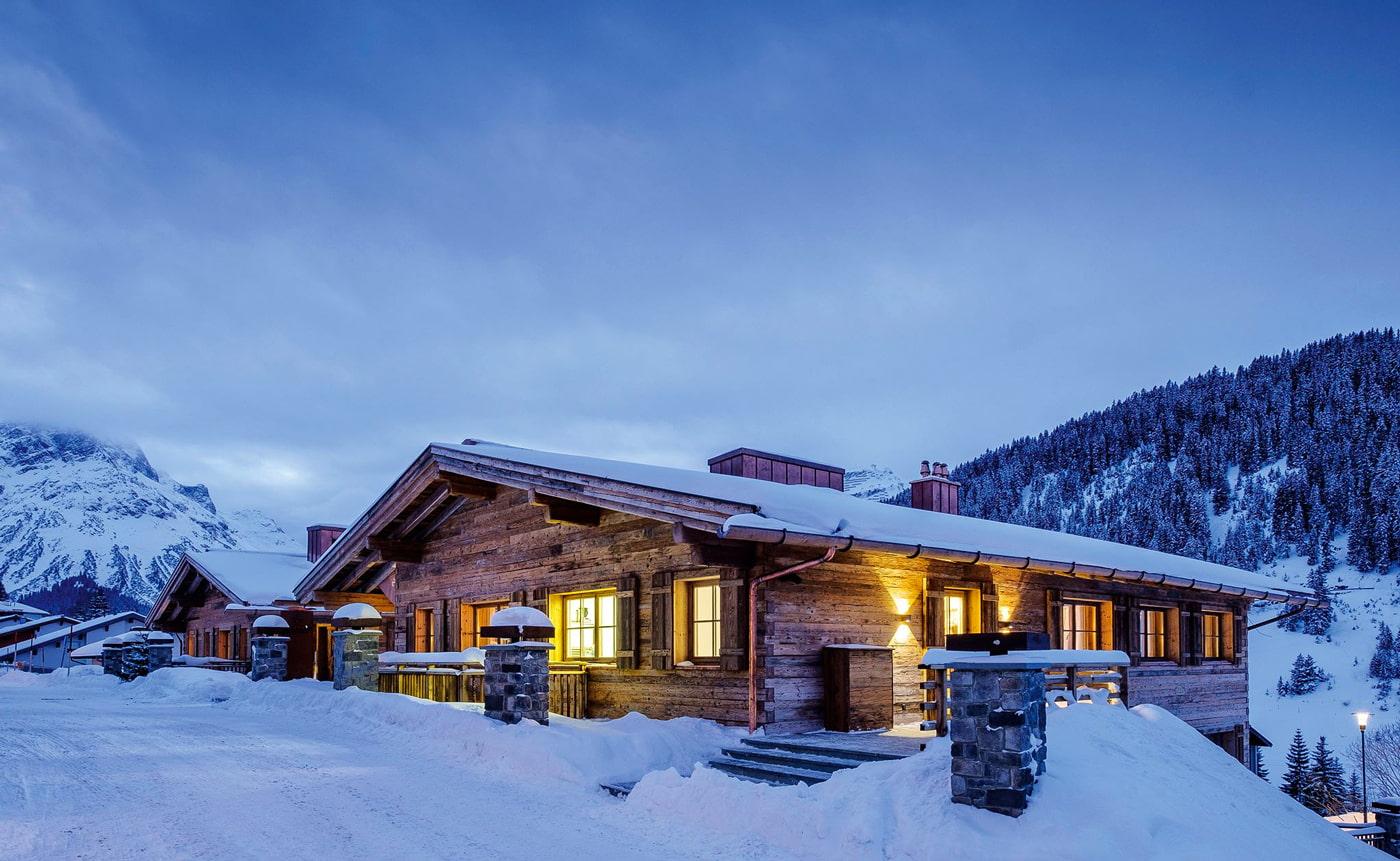 Cool hotel in Lech am Arlberg