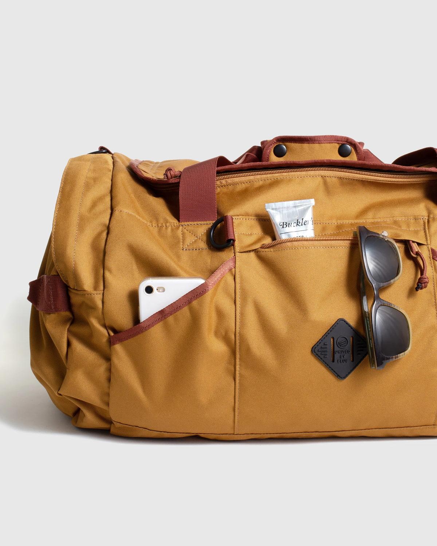 Eco-friendly weekender bag