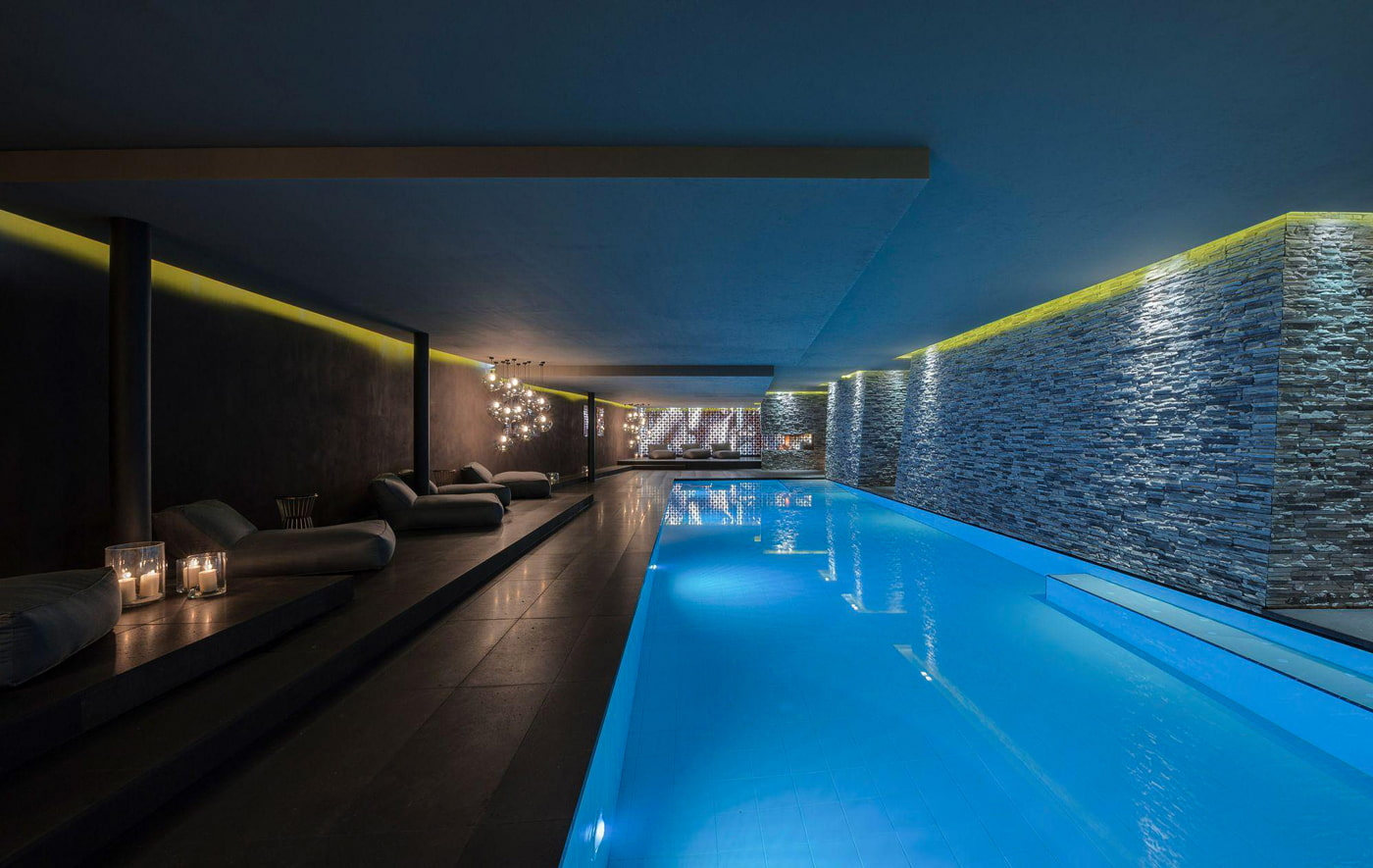 Hotel with indoor heated pool in Ischgl