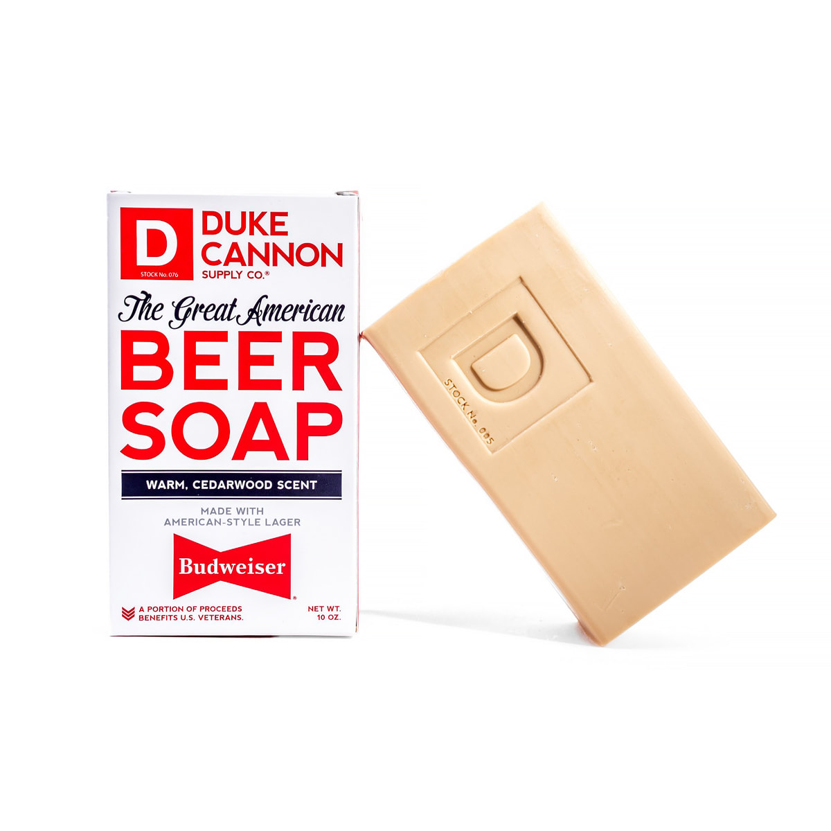 Budweiser Beer Soap