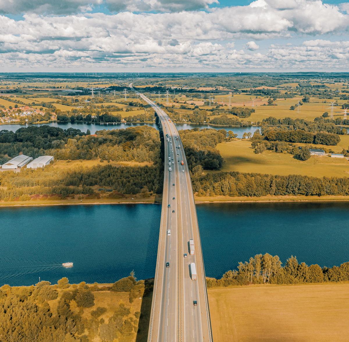 A7 Autobahn, Germany