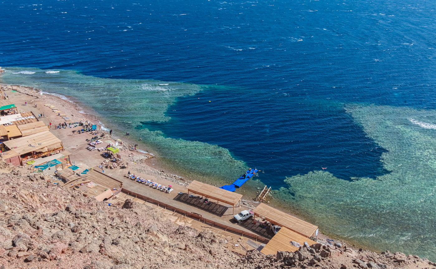 Blue Hole, Dahab, Egypt