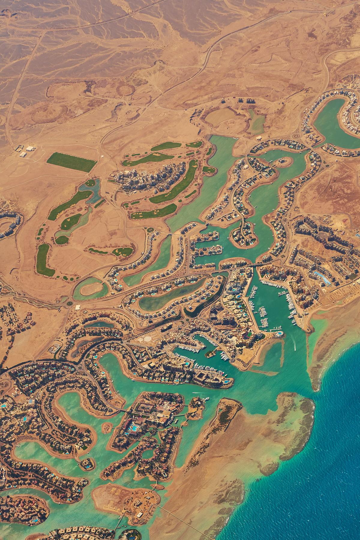 Beach city in Egypt