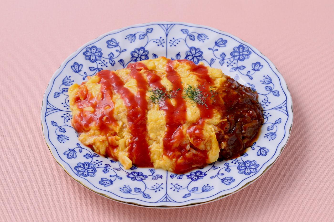 Omurice (Japanese omelet)