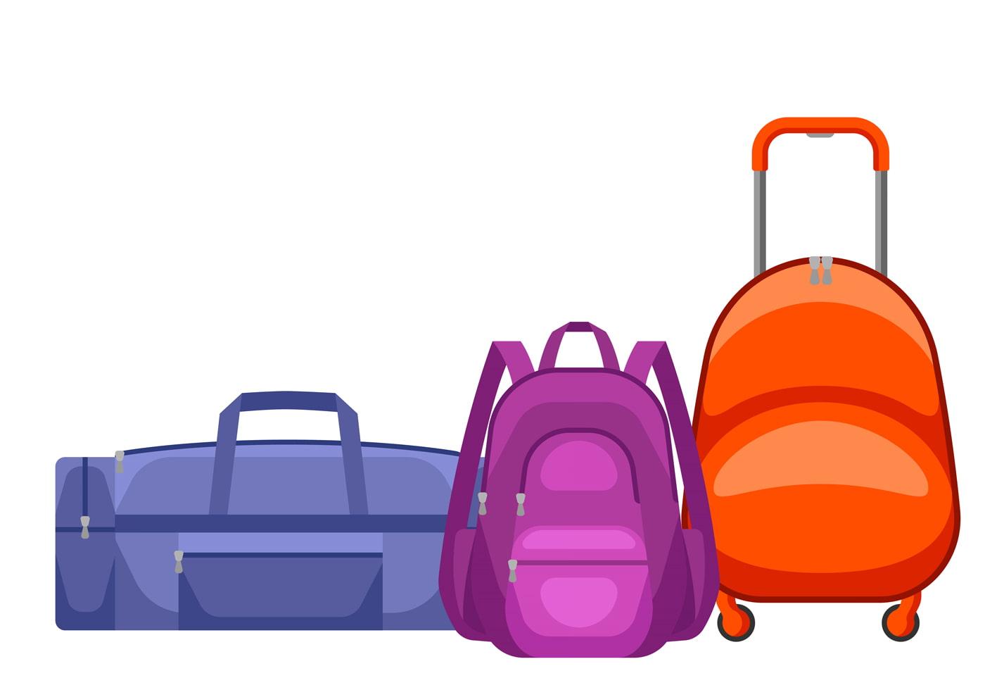 Backpack vs. Duffel vs. Rolling Suitcase
