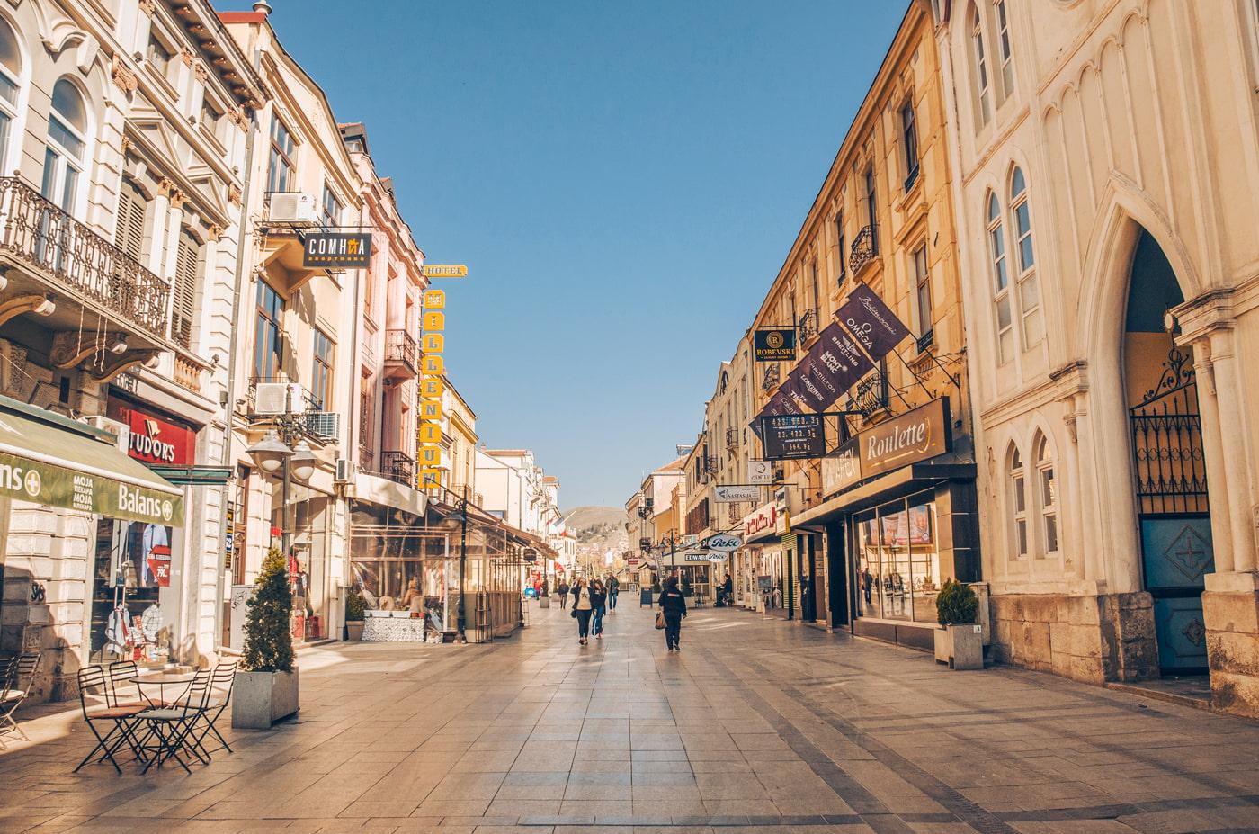 Bitola city, Maedonia