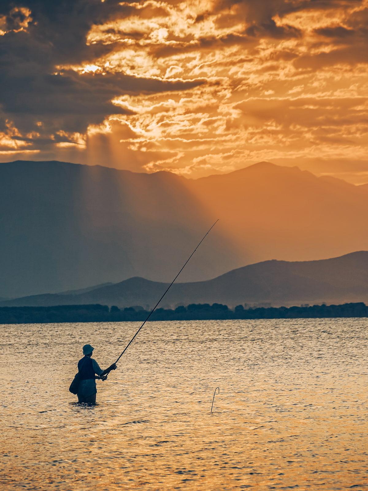 Dojran Lake, North Macedonia