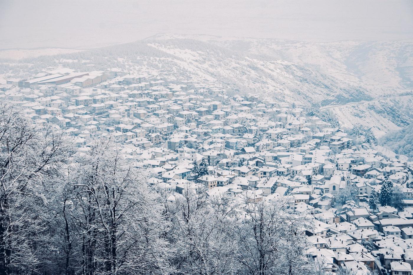 Kruševo in winter