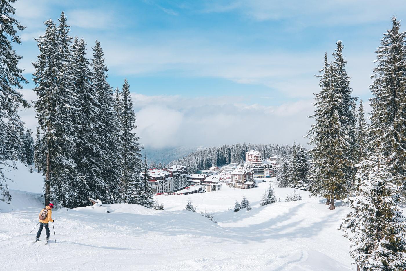 Ski resort in Bulgaria