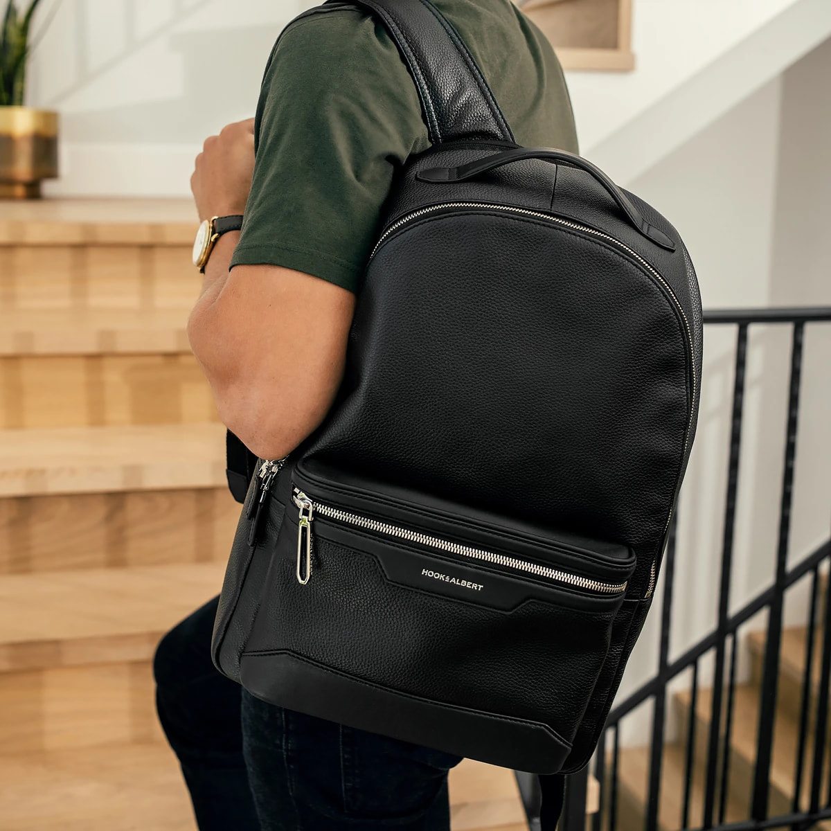 EDC Leather Backpack