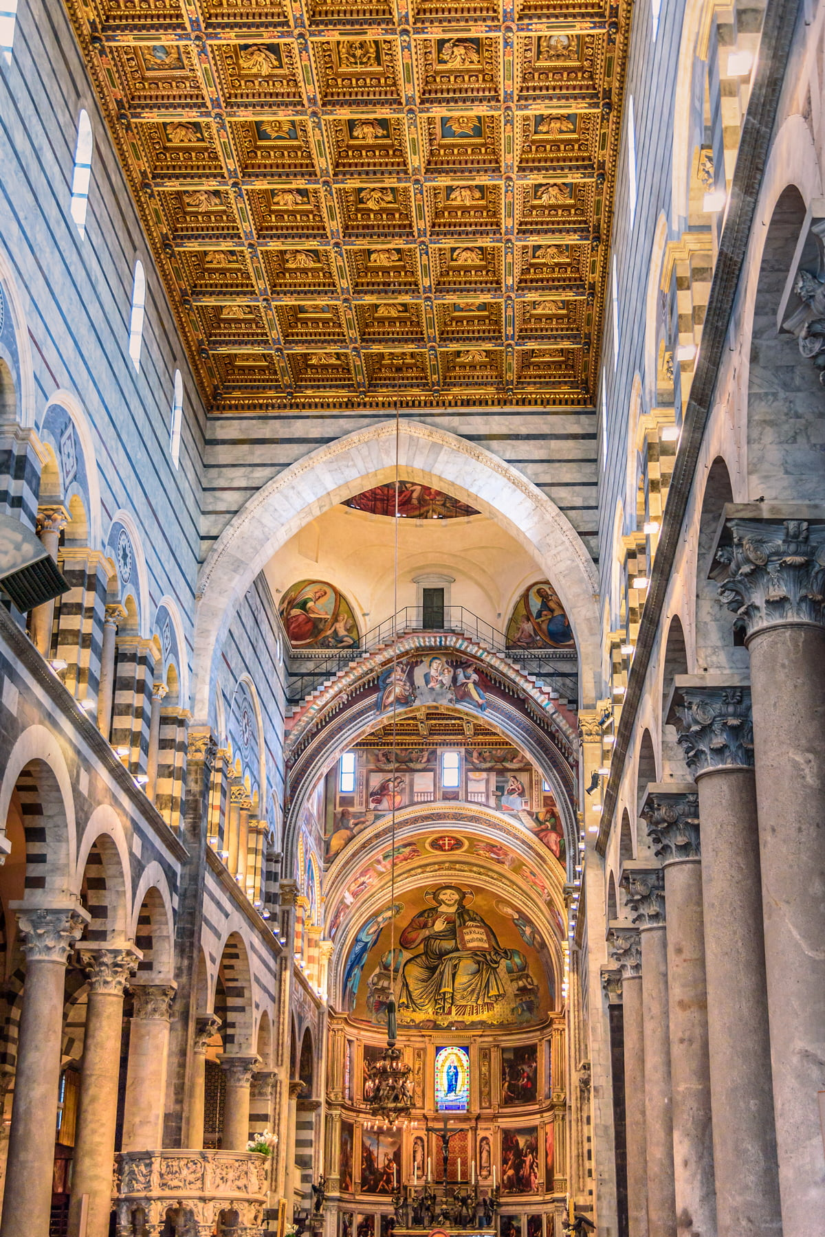 Inside Pisa Cathedral