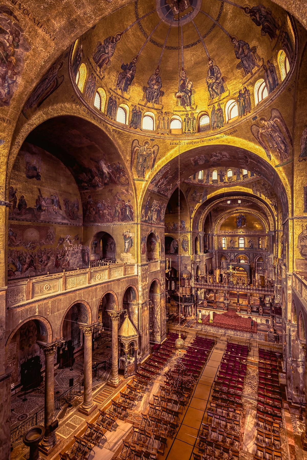 St Mark's Basilica Interiors