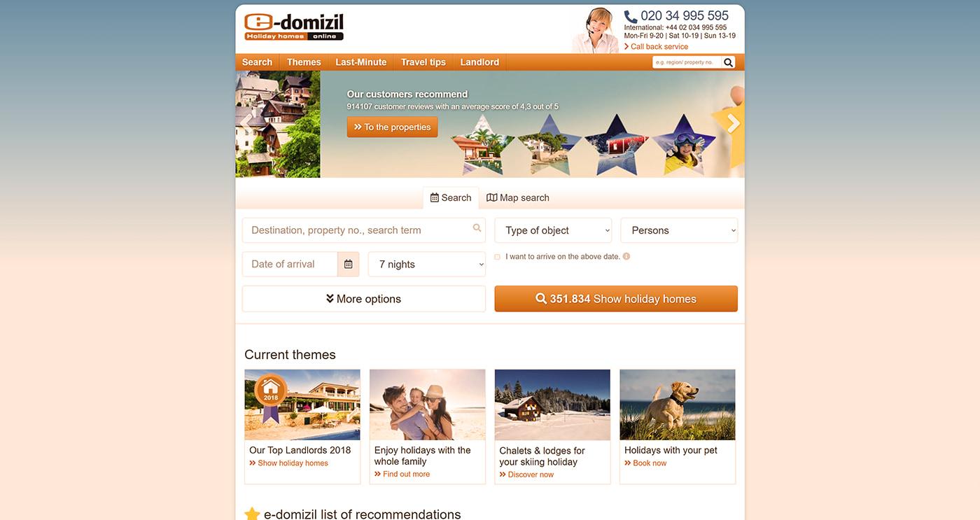 German vacation rental company