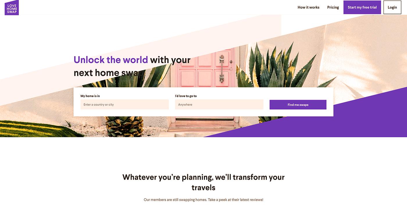 Home swap site