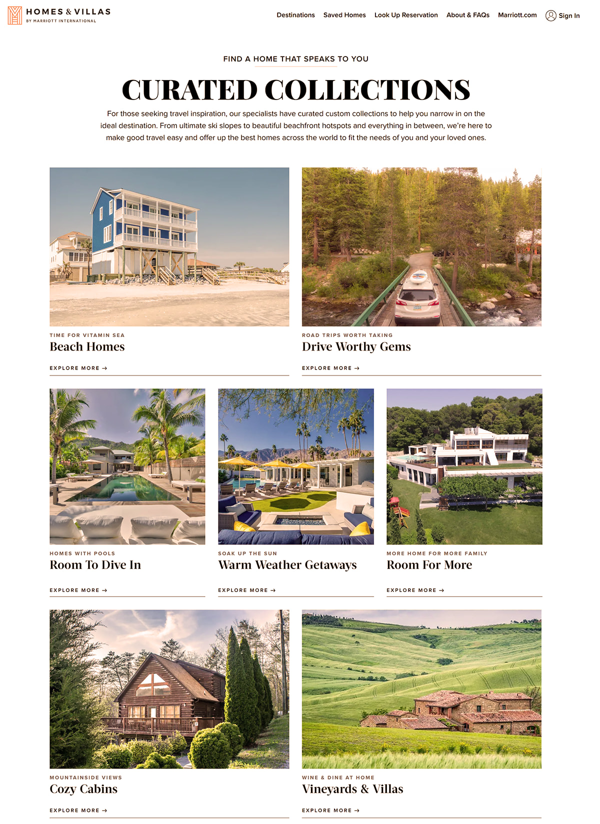 Homes and Villas by Marriott