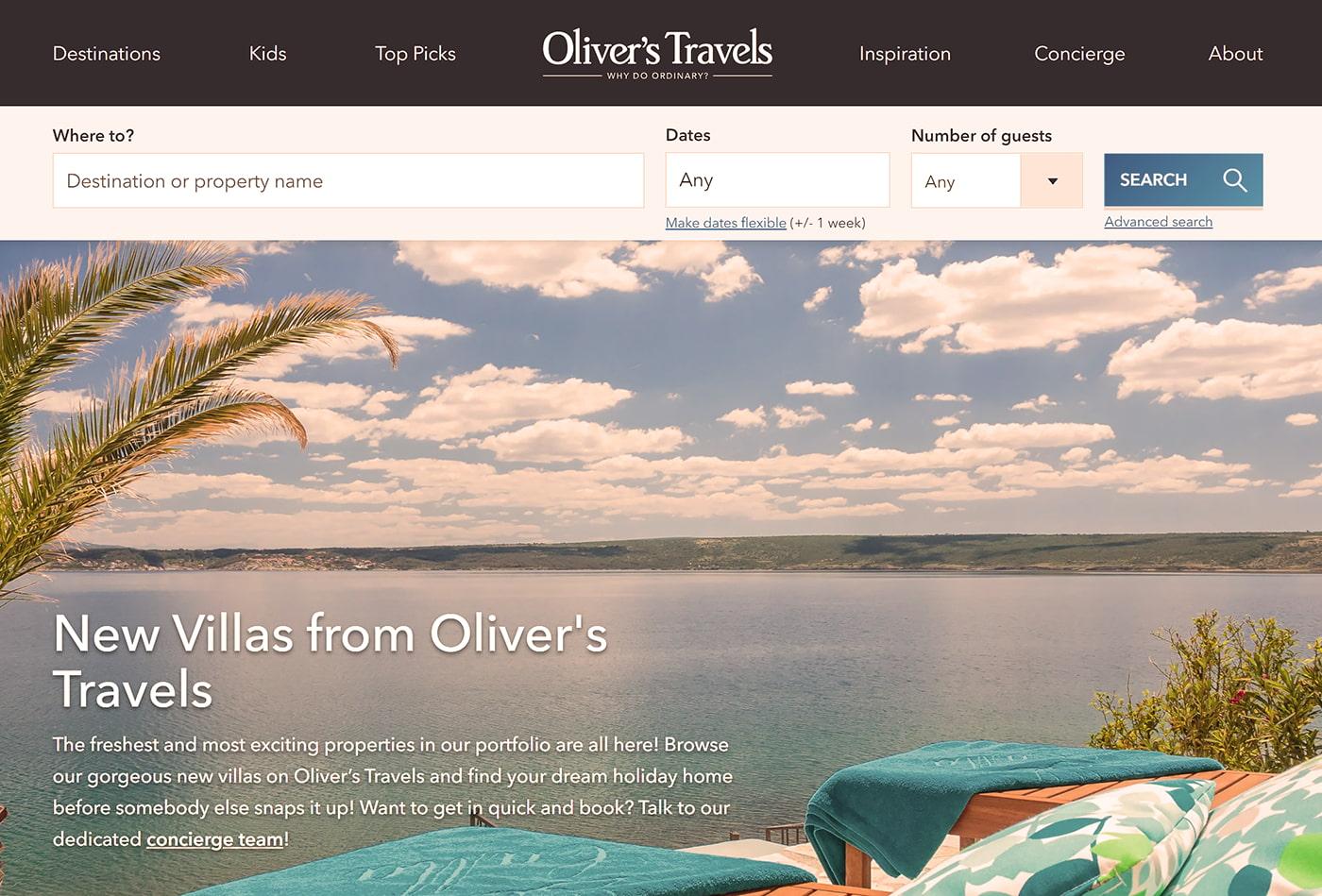 Top vacation villa website