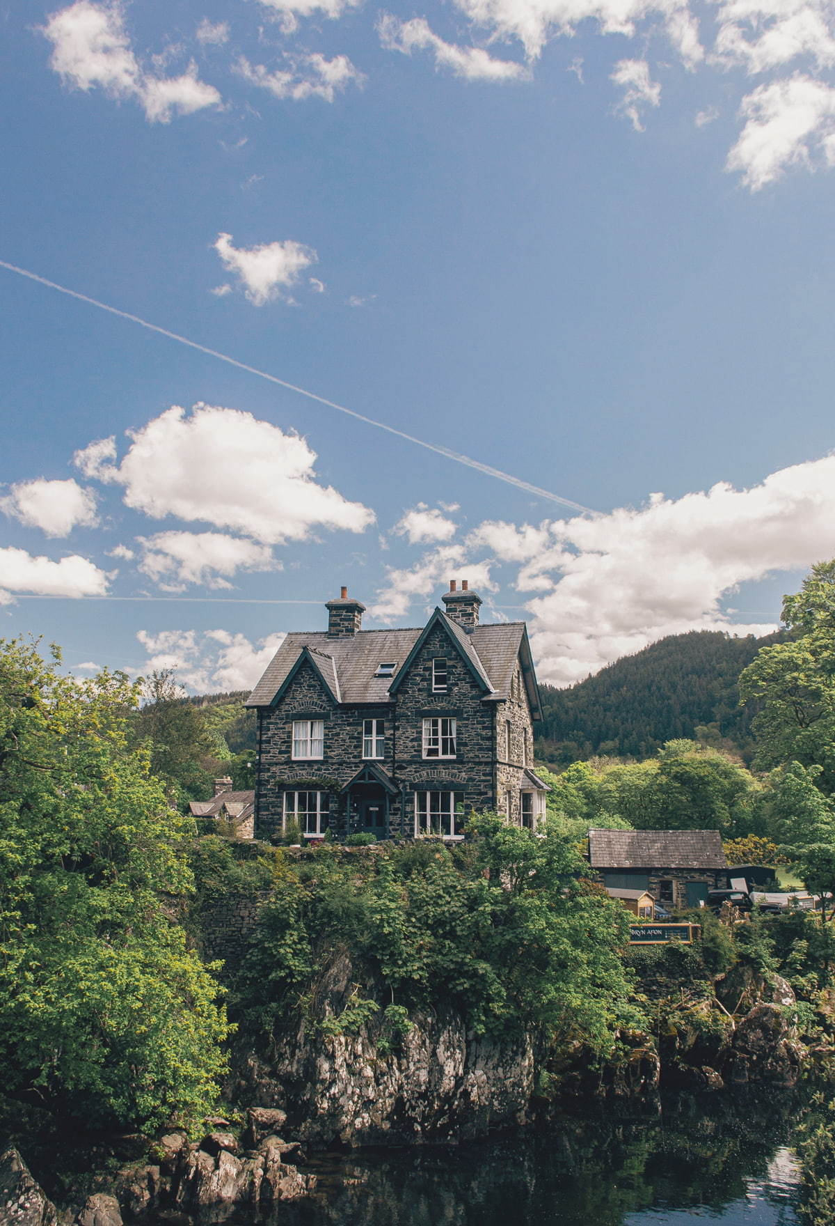Most beautiful village in Wales