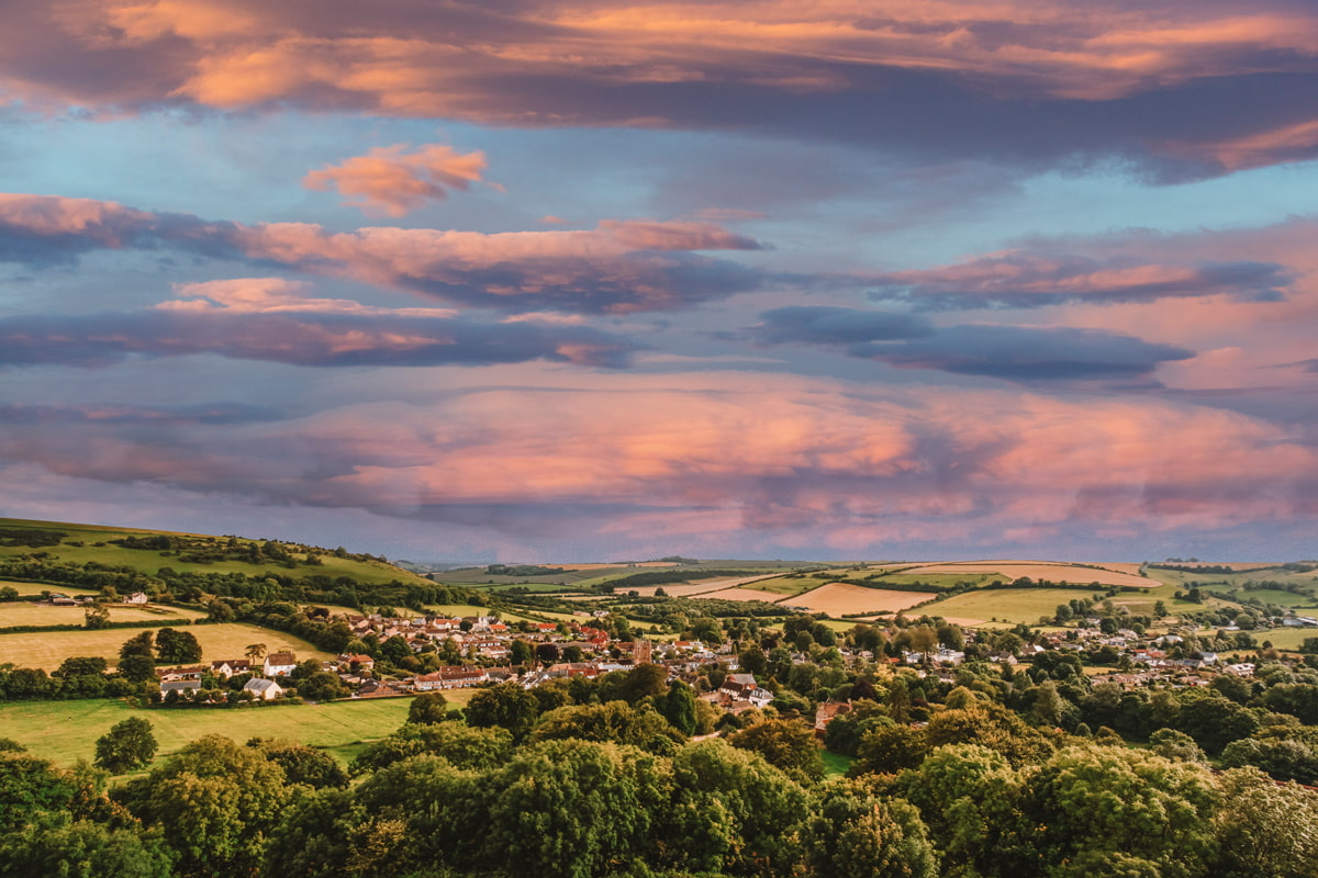 Historic Dorset village