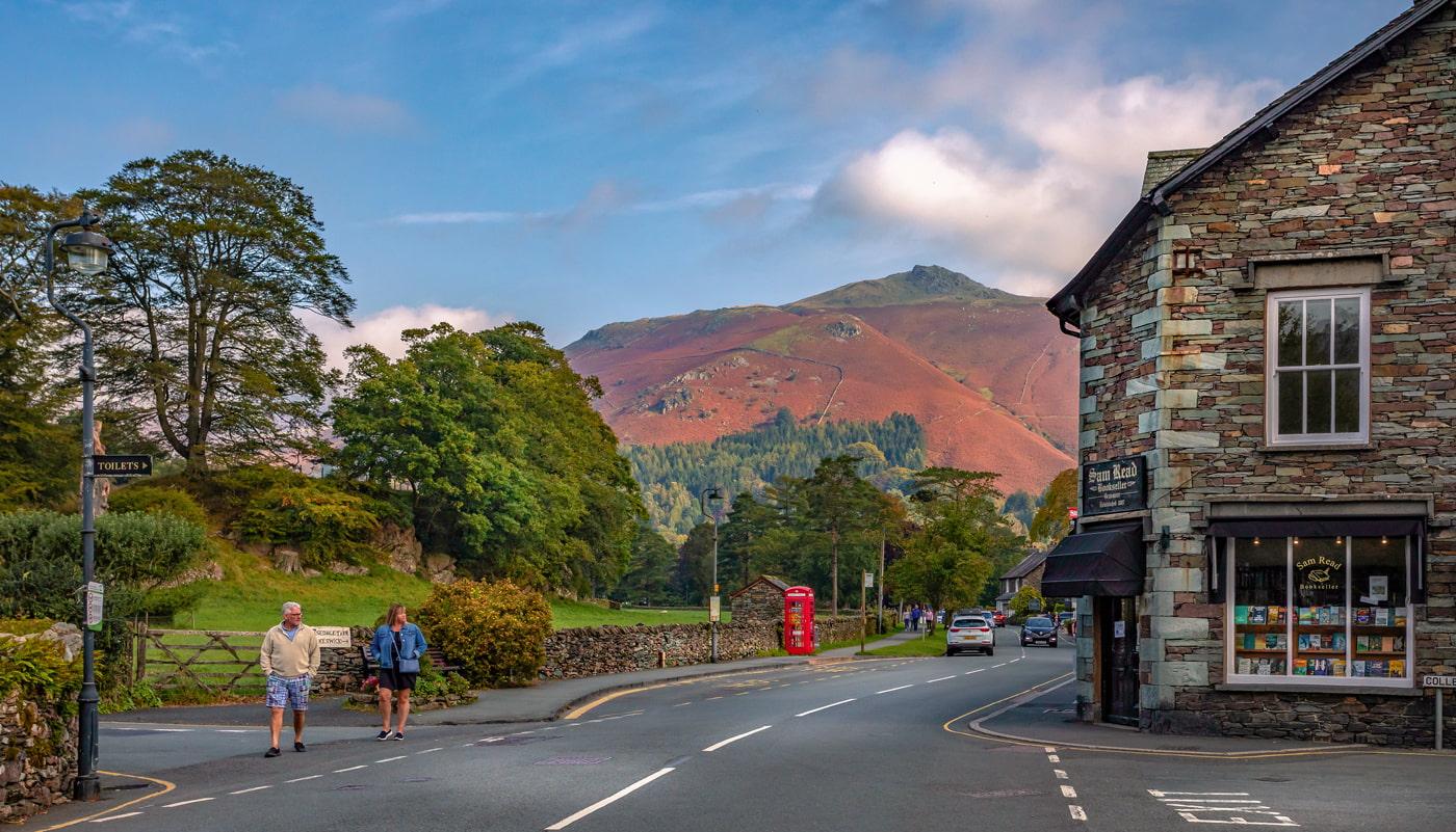 Beautiful village in Cumbria, England