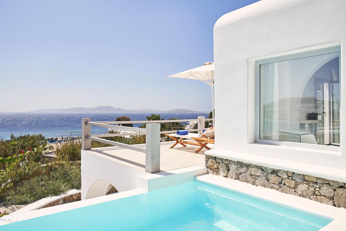 Boutique hotel close to Agios Ioannis