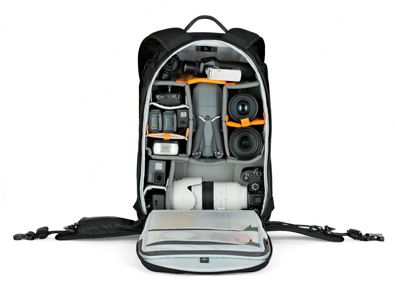 Professional camera backpack