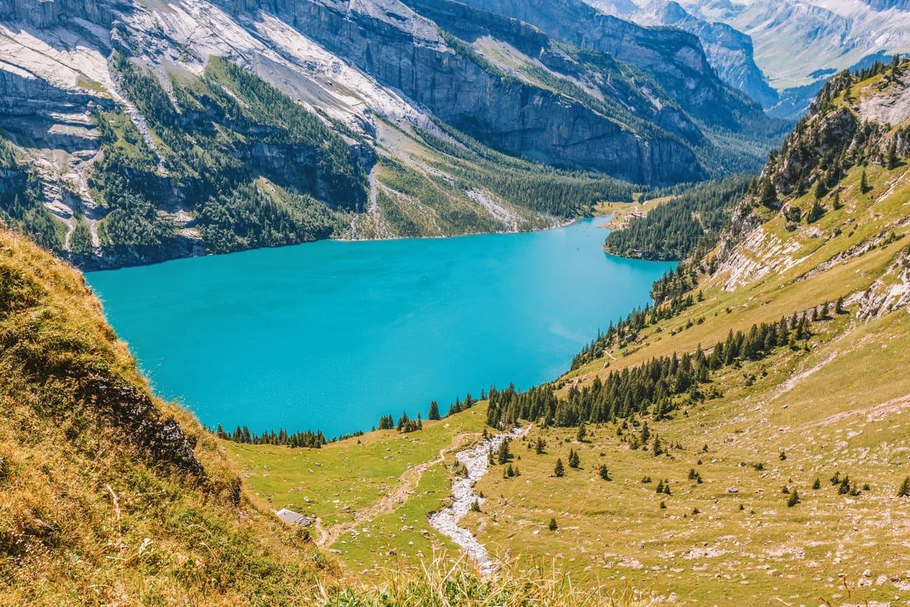 Hiking trail in Europe