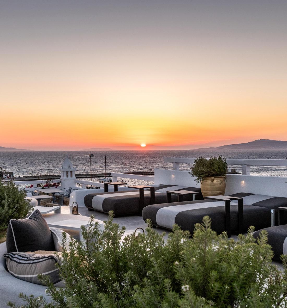 Designer hotel in Mykonos