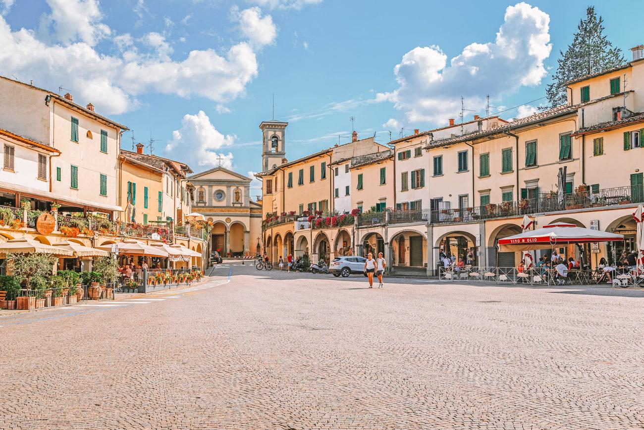 Greve in Chianti, Italy