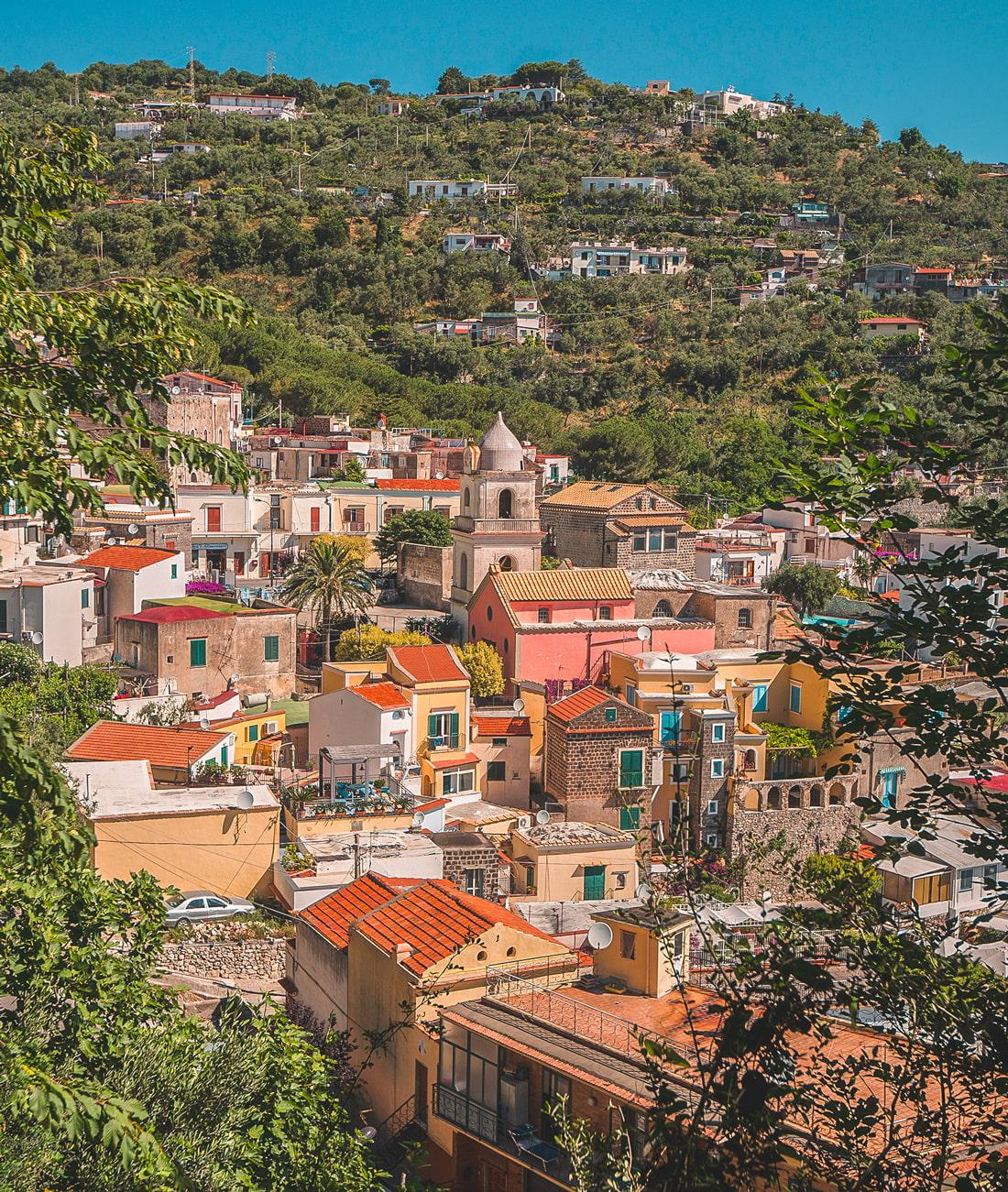 Beautiful town on the Amalfi Coast