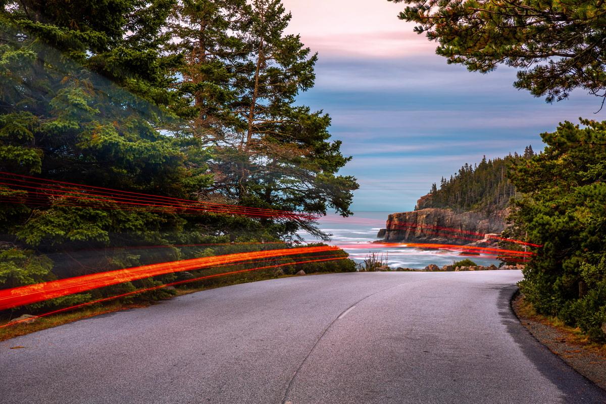Park Loop Road, Maine
