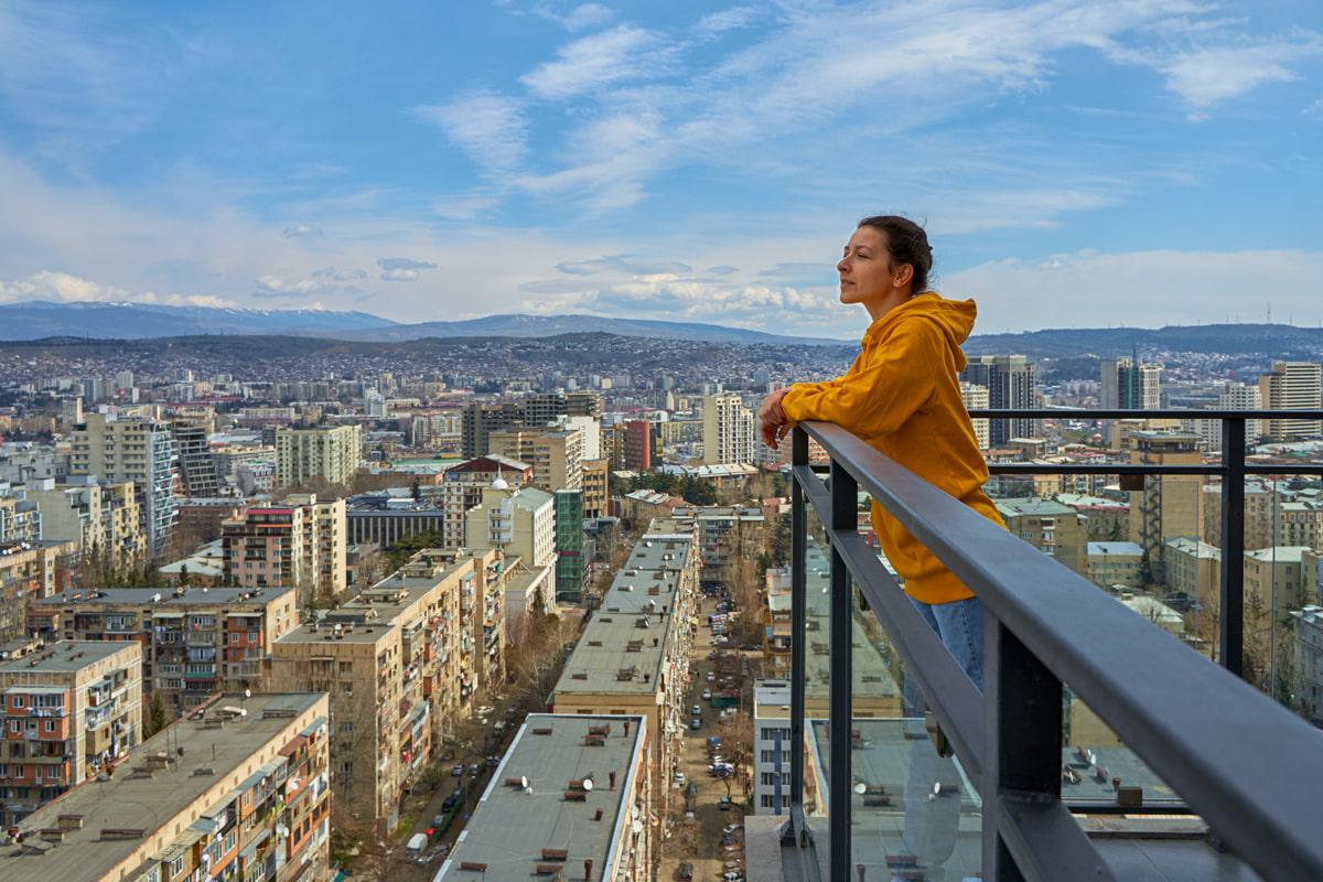 Digital nomad in Tbilisi
