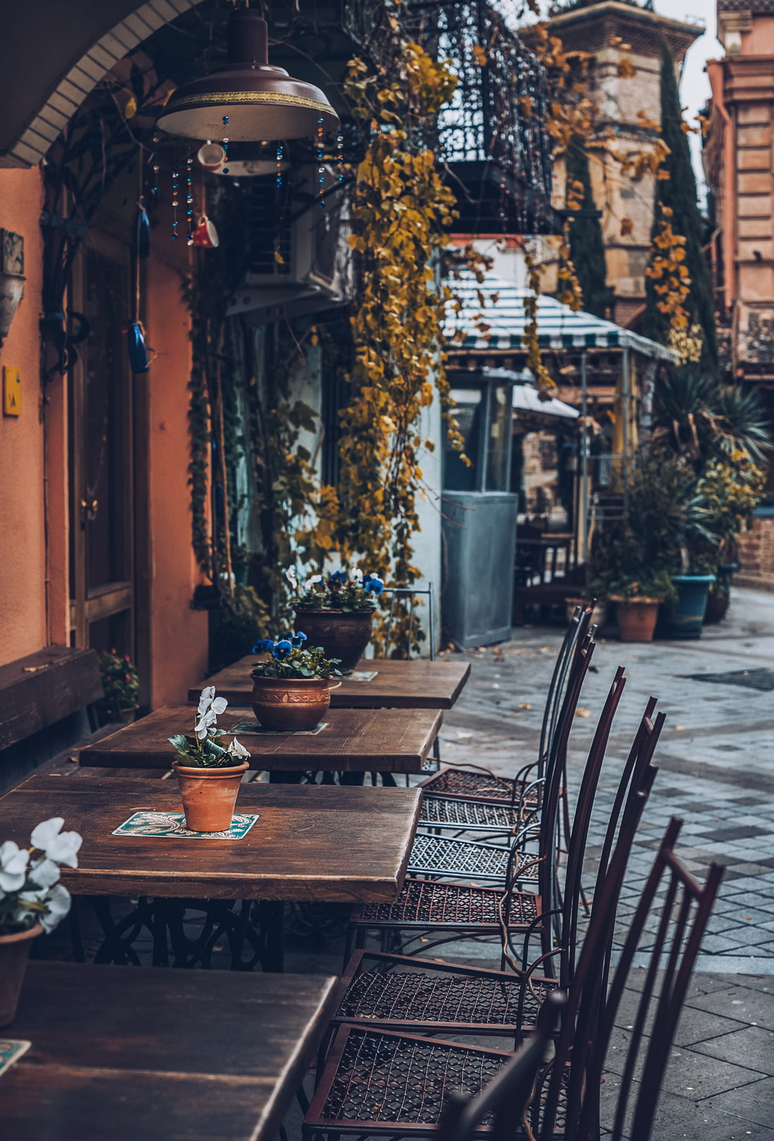Street cafe in Tbilisi