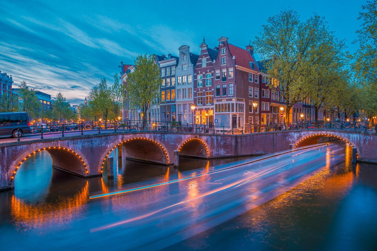 Bridge in Amsterdam