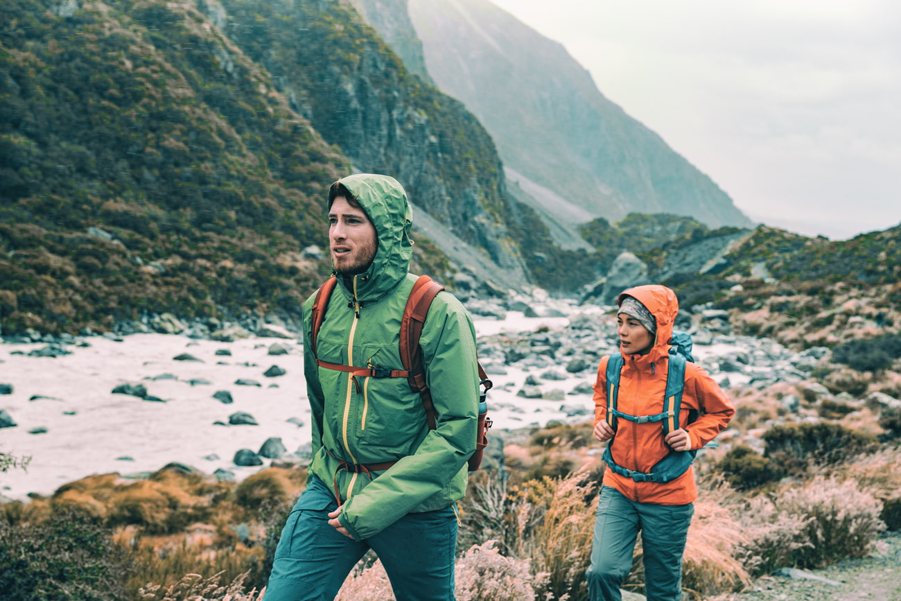The right clothes for backpacking