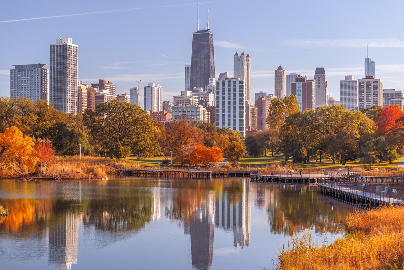 Autumn in Chicago