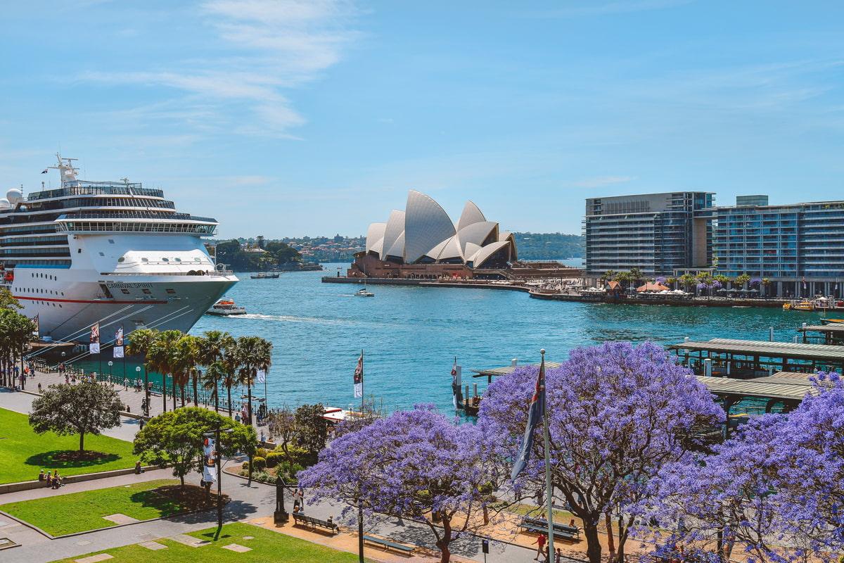 Sydney in October