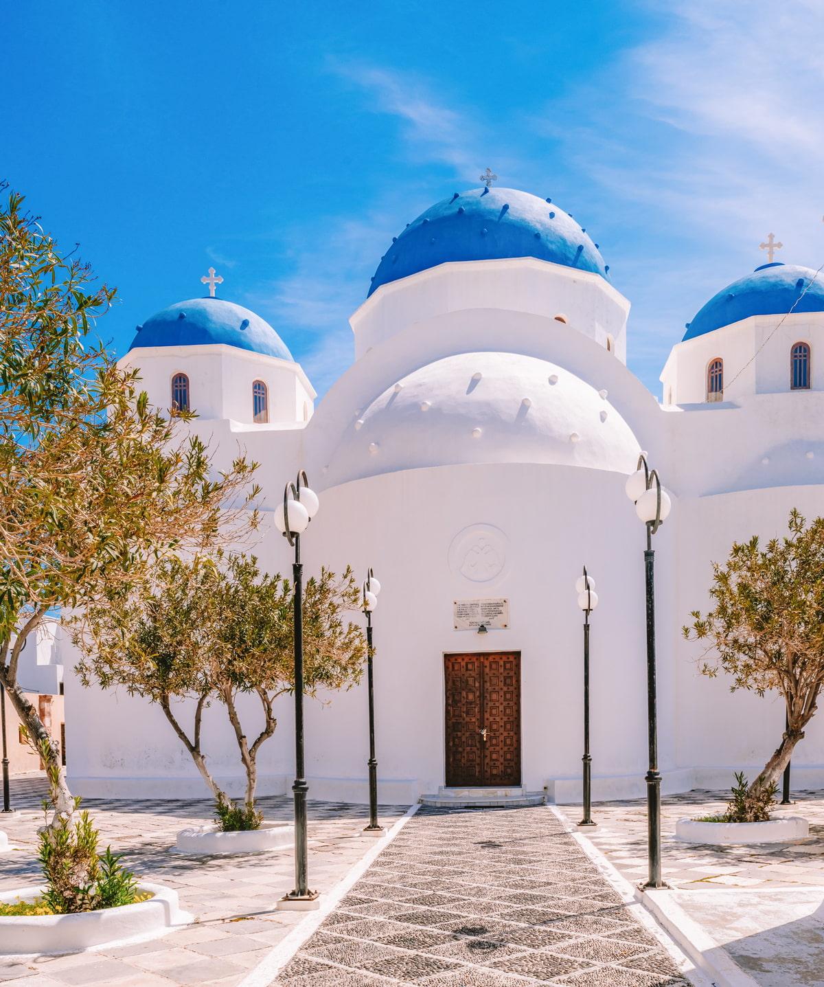 The Church of Holy Cross, Perissa